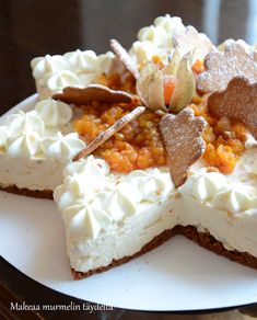 Raw Desserts, Food Tasting, Sweet Cakes, Cheesecake Recipes, Let Them Eat Cake, Yummy Cakes, Food Inspiration, Sweet Treats, Food And Drink
