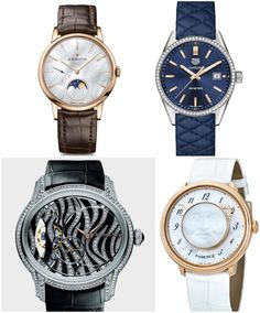 Twenty-four candidates are entered in the ladies' watch category of GPHG and there is a highly diverse range of entrants. Mechanical Watch, Tag Heuer, Audemars Piguet, Luxury Watches, Grand Prix, Michael Kors Watch, Lady, Auction, Accessories