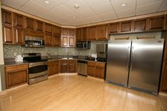 The newly remodeled kitchen at the Famliy Room within Children's Mercy Hospital, in Kansas City.