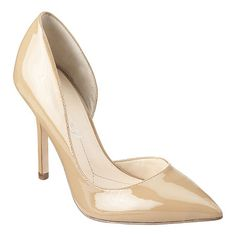"""As seen in the March issues of InStyle and People Style Watch.... Boutique 9 all leather upper pointy toe d'Orsay pump with 4"""" heel."""