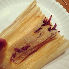 Beef Tamales (Masa and All).. homemade tamales with vegetable shortening instead of lard (her SIL is allergic to pork)..looks and sounds easy