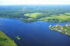 Одна из крупнейших рек на Земле и самая большая в Европе - река Волга
