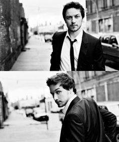 James McAvoy...One of the few men who could play a faun in Narnia, then the love interest in a romantic flick and pull off both rolls.