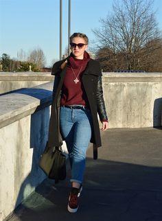 The Dress Sense: My burgundy obsession