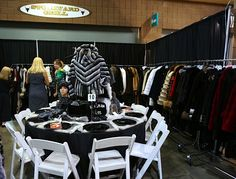 Alaskan Fur's Beautiful Tablescape - check out our original, fur placemats with mink trim! 9/17/13 - #AlaskanFur #AFC #KansasCity #KC #Fashion #Fur #Charity #Fall #Winter #FallFashion #Jackets #Coats #Womenswear #Model #BTS #Designer #lookbook #beautiful #glamorous #glam #leather #cashmere #workit #Tablescapes2013 #Tablescapes #BOTAR #AmericanRoyal #TheAmericanRoyal