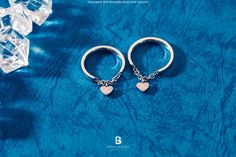 Bonny & Read 平價飾品 - 【獨家訂製】銀色愛心戒指  NT.275