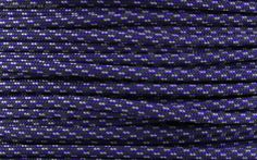 E.L. Wood Type III 550 Paracord - Purple Rain