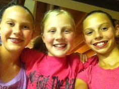 Grace, Abby, and Emma