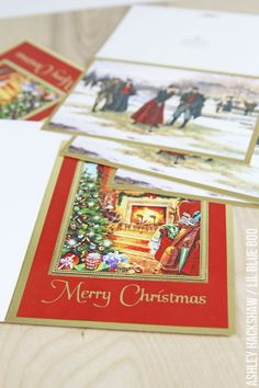Decorative Christmas Card Crafts