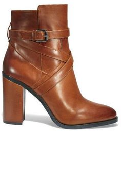 Get a head start on your fall 2015 shopping with these 12 chic pair of on-trend brown booties. #shoelover