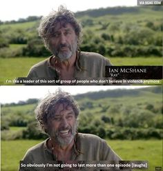You don't say! Game of Thrones Ian Mcshane