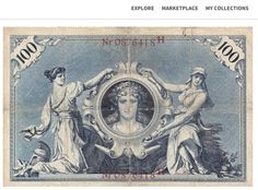 Reichsbanknote: 1898 100 Mark Banknote on kollectbox.com Sign up at http://app.kollectbox.com/users/register  #Reichsbanknote   #banknote   #bill   #papermoney   #collectors   #collectibles   #hobby   #marketplace   #exchange   #buy   #sell   #tech   #startup