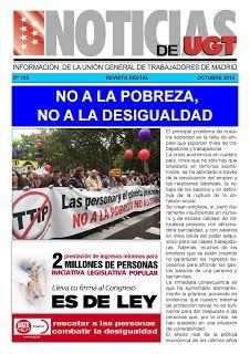 REDACCIÓN SINDICAL MADRID: Nuevo número de Noticias de UGT