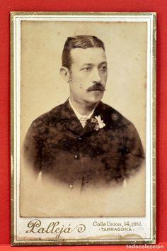 ANTIGUA FOTOGRAFÍA 1898 FOTOGRAFO PALLEJÁ TARRAGONA 10,5CMX6,5CM