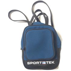 90's Sport Tek Mini Backpack Purse ($58) ❤ liked on Polyvore featuring bags, backpacks, miniature backpack, waterproof rucksack, waterproof daypack, waterproof bag and water proof backpack