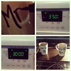 Sunshine Maker Meg: DIY Projects - Personalized Coffee Mugs DIY