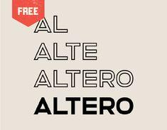 Free Type Fonts, Cool Fonts, Sans Serif Fonts, Typography Fonts, Lettering, Travel Fonts, Fat Font, Logo Design, Menu Design