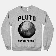 Pluto | HUMAN | T-Shirts, Tanks, Sweatshirts and Hoodies