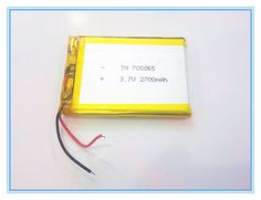 >> Click to Buy << Free shipping 3.7V,2700mAH,[705065] PLIB; polymer lithium ion / Li-ion battery for dvr,GPS,mp3,mp4,cell phone,speaker #Affiliate