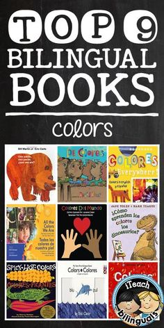 Top 9 Bilingual Books for teaching alphabet letters & colors (recommendations for teachers by teachers on iTeach Bilinguals)