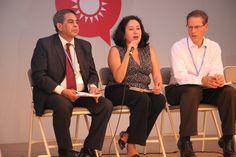 Panelistas de LEDS in Actios en Voces por el Clima