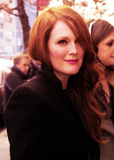 Julianne Moore. I am sososo in love with this woman.