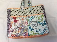 Big Tote Bag by MondayBags on Etsy