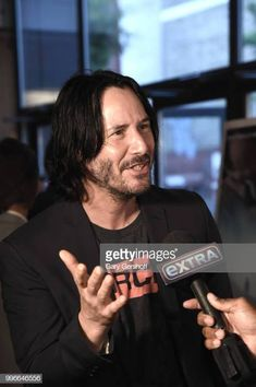 Actor Keanu Reeves attends the 'Siberia' New York premiere at The Metrograph on July 11 2018 in New York City Keanu Reeves, Keanu Charles Reeves, Ode To Happiness, Man Of Tai Chi, Film Man, Blockbuster Film, Upcoming Movies, Best Actor, Beautiful Men