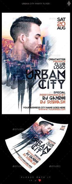 Urban Guest Dy Flyer