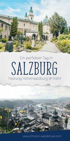 Ein perfekter Tag in Salzburg – Best Europe Destinations Europe Destinations, Amazing Destinations, Travel Europe, Best Places To Travel, Best Cities, Places To See, Salzburg Austria, Reisen In Europa, Austria Travel