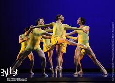 San Francisco Ballet in Wheeldon's 'Number Nine' (© Erik Tomasson). Costume design by Holly Hynes.
