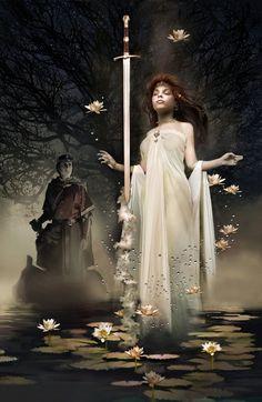 Lady of the Lake...#fantasy #myth #king Arthur