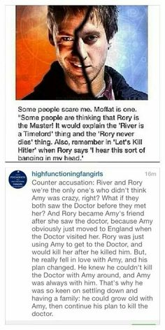Doctor Rory/Master