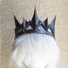 The dark queen Burnished Amber bronze crown by MudandMajesty