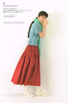 , Japanese Sewing Pattern Book For Women Outfit Clothing, Easy Sewing Tutorial, Style Du Japon, Japan Style, Stylish Dress Book, Stylish Dresses, Skirt Pants, Midi Skirt, Japanese Fashion Designers, Japanese Sewing Patterns, Style Japonais