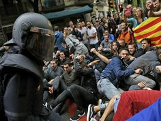 Labour leader Jeremy Corbyn has urged Theresa May to appeal to the Spanish prime minister to end the police violence in Catalonia following the disputed independence referendum. Mr Corbyn has called on the Prime Minister to intervene after a day of intense violence which has seen members of the Civil Guard firing rubber bullets on the crowds who turned out to vote in the poll which has been deemed illegal by the Constitutional Court in Madrid.