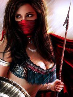 persian fantasy art | Warrior Women Art - Warrior Girls - Warrior Babes
