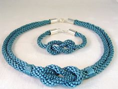Herculean Love  Kumihimo Knot Necklace and by NaturalDesignStudio, $45.00