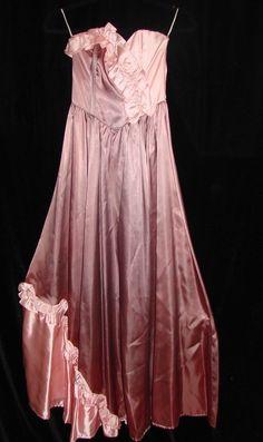 Vintage 70s Gunne Sax NOS NWOT Pink & Mauve by TheScarletMonkey