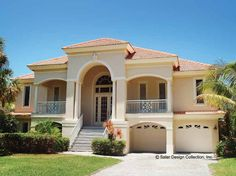 Mediterranean House Plan with 2494 Square Feet and 3 Bedrooms from Dream Home Source | House Plan Code DHSW17089