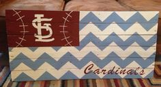 STL Cardinals - Pallet Sign! $40  Find me on Facebook and Instagram at Handmade by Hilary!