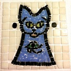 Lynne Mosiman - Bastet was the goddess of fire, cats, of the home & pregnant women Mosaic Projects, Mosaic Ideas, Art Projects, Jung In, Mosaic Animals, Special People, Letters And Numbers, Mosaic Art, Diy And Crafts