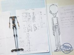 Armature created by Aardman Animation's Andrew Bloxham, for Bartholomew's puppet Theatre For Young Audiences, Stop Motion Armature, Character Rigging, Simpsons Art, Puppet Making, Prop Design, Motion Design, Art Studios, Short Film