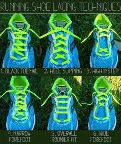 shoe tying for high arches | How to tie your running shoes
