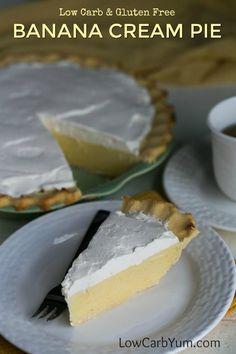 Sugar free banana cream pie recipe