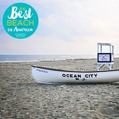 Best Beach in America winner...Ocean City, New Jersey. Ocean City has eight miles of sand and a 2.5-mile-long boardwalk that runs along the beach and ocean, which includes two amusement piers, a water park, miniature golf, and lots of cool spots to grab souvenirs and boardwalk bites.