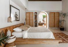 Chic Tropical Open-Plan Living Villa in Bali, Chic Tropical Open-Plan Living Villa in Bali. Bali Bedroom, Home Bedroom, Bedroom Decor, Bedroom Fun, Master Bedroom, Home Design, Home Interior Design, Design Ideas, Design Room