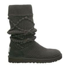 2013 Black Knit Ugg Boots Tall Ugg Sweater Boots 2013