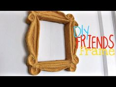 "DIY ""Friends"" Peephole Door Frame tutorial!"