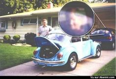 Fantôme dans la voiture - Ghost in the car